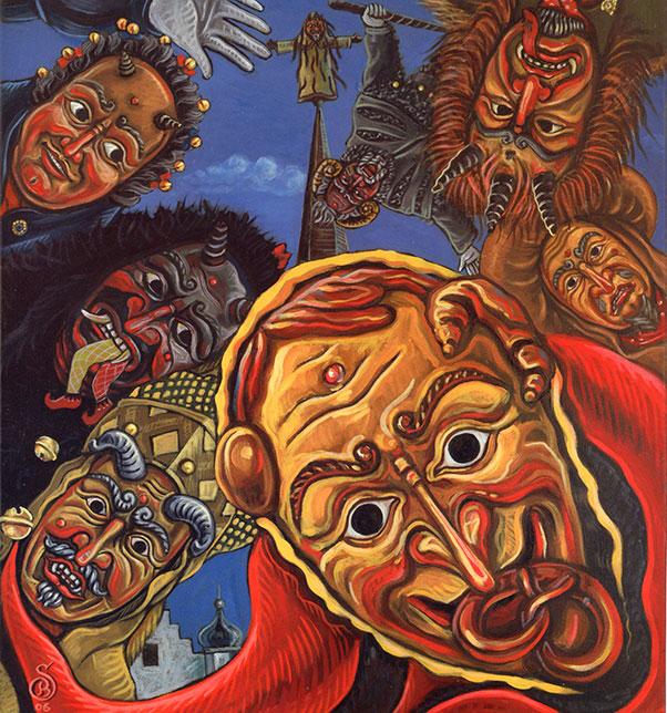 Gemälde vom Schlegele Beck